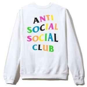 ASSC Anti Social Social Club Rainy Dayz Crewneck